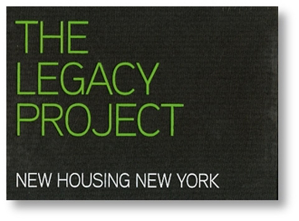 The Legacy Project - New Housing New York